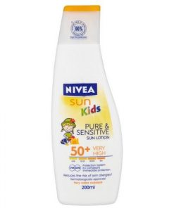 Nivea Sun Kids Pure & Sensitive Lotion SPF50+ 200ml