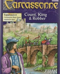 Z-Man Games Carcassonne: Count, King & Robber (exp.)