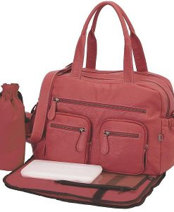 OiOi Buffalo Carry All Diaper Bag (6569)