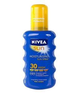 Nivea Moisturising Sun Spray SPF30 200ml