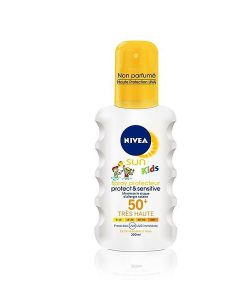 Nivea Kids Protect & Sensitive Sun Spray SPF50 200ml