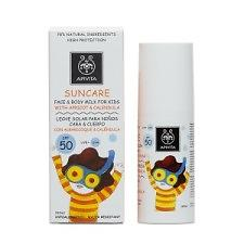 Apivita Suncare Face & Body Milk For Kids SPF50 100ml