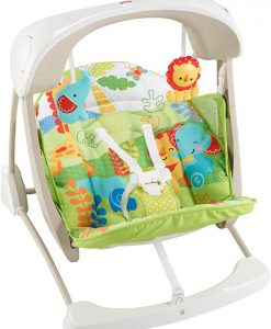 Fisher-Price Rainforest Friends Take-Along Swing