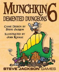 Steve Jackson Games Munchkin 6: Demented Dungeons (exp.)