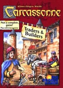 Z-Man Games Carcassonne: Traders & Builders (exp.)