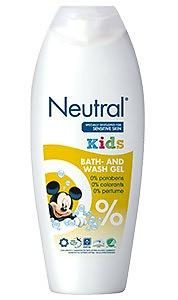 Neutral Kids Bath & Shower Gel 250ml