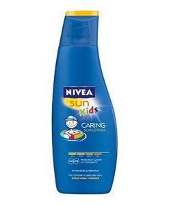Nivea Kids Caring Sun Lotion SPF50 200ml