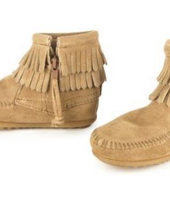 Minnetonka Double Fringe Side Zip (Flicka)