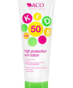 ACO Kids High Protection Sun Lotion SPF50 125ml