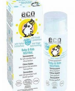 Eco Cosmetics Baby & Kids Neutral Sun Cream SPF50 50ml