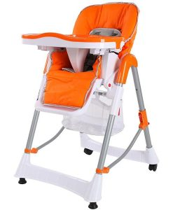 TecTake Highchair Plastic With Wheels