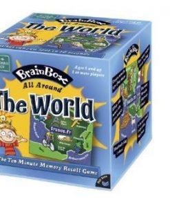 Green Board Games Brainbox: The World