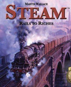 Mayfair Games Steam: Rails To Riches