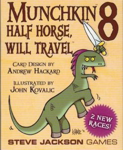 Steve Jackson Games Munchkin 8: Half Horse, will travel (exp.)