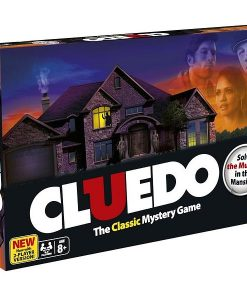 Hasbro Cluedo: Det Klassiska Detektivspelet