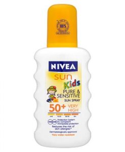Nivea Sun Kids Pure & Sensitive Spray SPF50+ 200ml