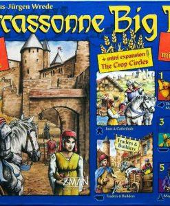 Z-Man Games Carcassonne: Big Box 4