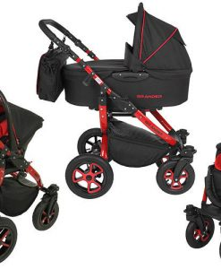 Tutek Grander Black (Travel System)