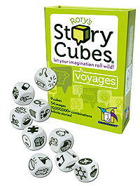 Gamewright Rory's Story Cubes: Voyages