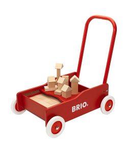 BRIO Lära-Gå-Vagn Med Klossar