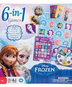 Wonder Forge Disney Frozen 6 in 1
