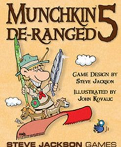 Steve Jackson Games Munchkin 5: De-Ranged (exp.)