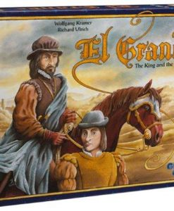 Rio Grande Games El Grande Decennial