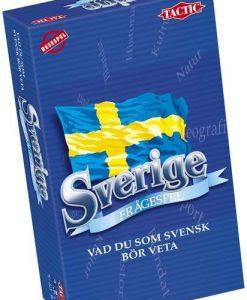Tactic Frågespelet om Sverige (pocket)