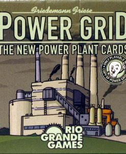 Rio Grande Games Power Grid: New Power Plant Cards (exp.)