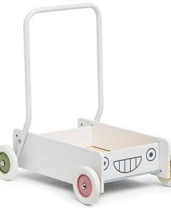 Micki Lära-gå-vagn Pastell