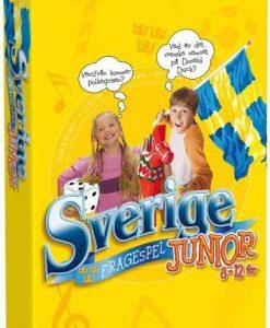 Tactic Frågespelet om Sverige Junior (pocket)