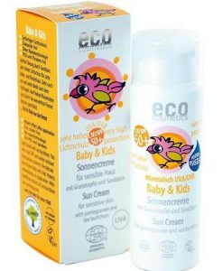 Eco Cosmetics Baby & Kids Sun Cream SPF50+ 50ml