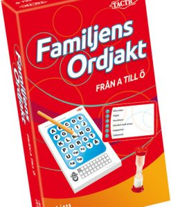 Tactic A-Ö: Familjens Ordjakt (pocket)