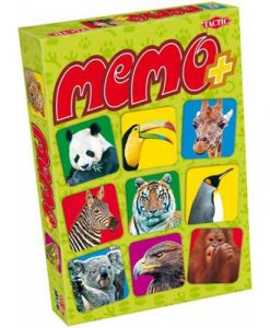 Tactic Memo+: Vilda djur