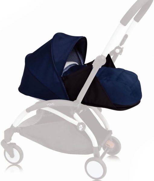 BABYZEN YOYO+ Färgklädsel & Liggbas 0+, Air France Blue