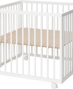 BabyDan Lekhage Comfort 80x80, Vit