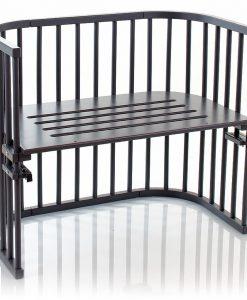 Babybay Bedside Crib Maxi, Grey