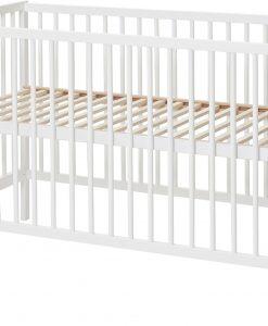 Babydan Spjälsäng Comfort, Vit 60x120 cm