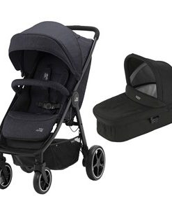 Britax B-Agile M Barnvagn Black Shadow One Size