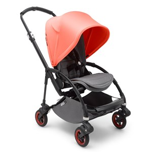 Bugaboo Bee5 Complete Barnvagn Limited Edition Svart/Korall One Size