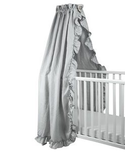 NG Baby Sänghimmel Light Grey One Size