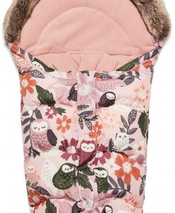 Petite Chérie Winter Owl Miniåkpåse, Pink
