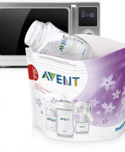 Philips Avent Mikrovågspåsar för Ångsterilisering