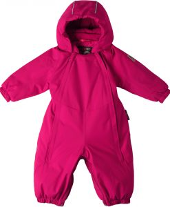 Reimatec Ailu Babyoverall, Cranberry Pink 50-56