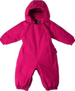 Reimatec Ailu Babyoverall, Cranberry Pink 50-56