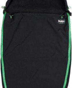 The Buppa Brand Softshell Åkpåse, Black Green