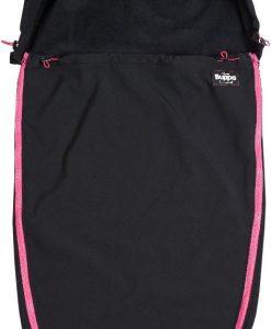 The Buppa Brand Softshell Åkpåse, Black Pink