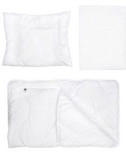 Umami Täcke, Kudde och Lakan Set för Barnvagn/Vagga One Size