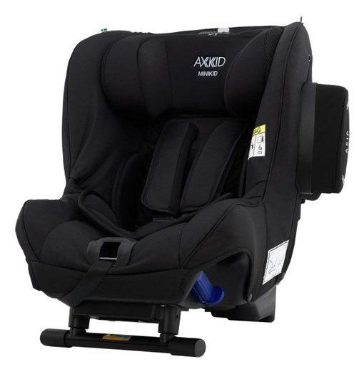 Axkid Minikid bakåtvänd bilbarnstol 0-25 kg, premium shell black