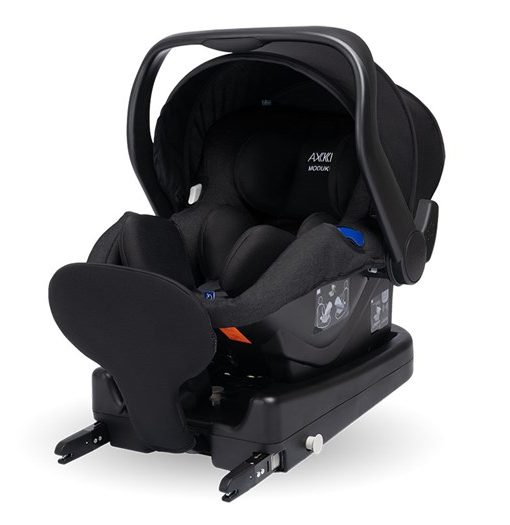 Axkid Modukid Infant babyskydd iSize 0-13 kg, black